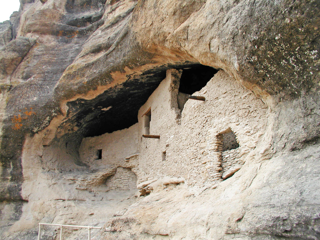 Gila Cliff Dwellings National Monument.