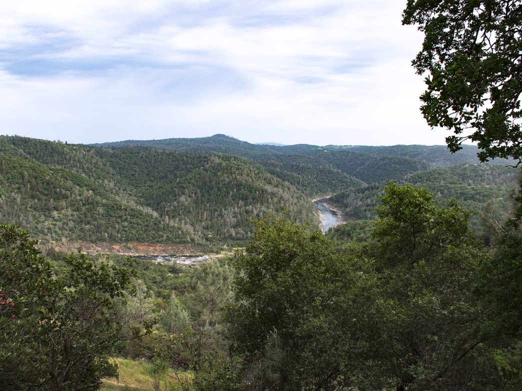 Overlooking the American River Canyon