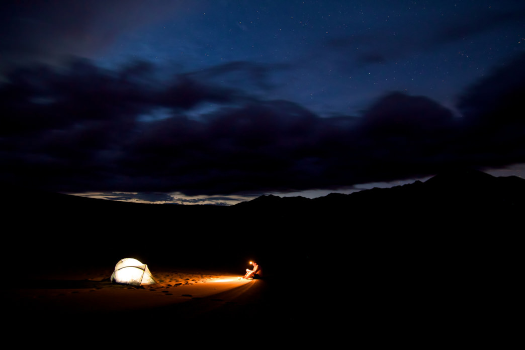 """Quick-pitch"" tents can be less so if you're trying to set yours up in the dark. Make sure to arrive at your destination with plenty of daylight."