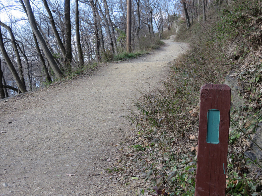 The Maryland Heights Trail climbs high above Harpers Ferry on the Maryland side of the Potomac