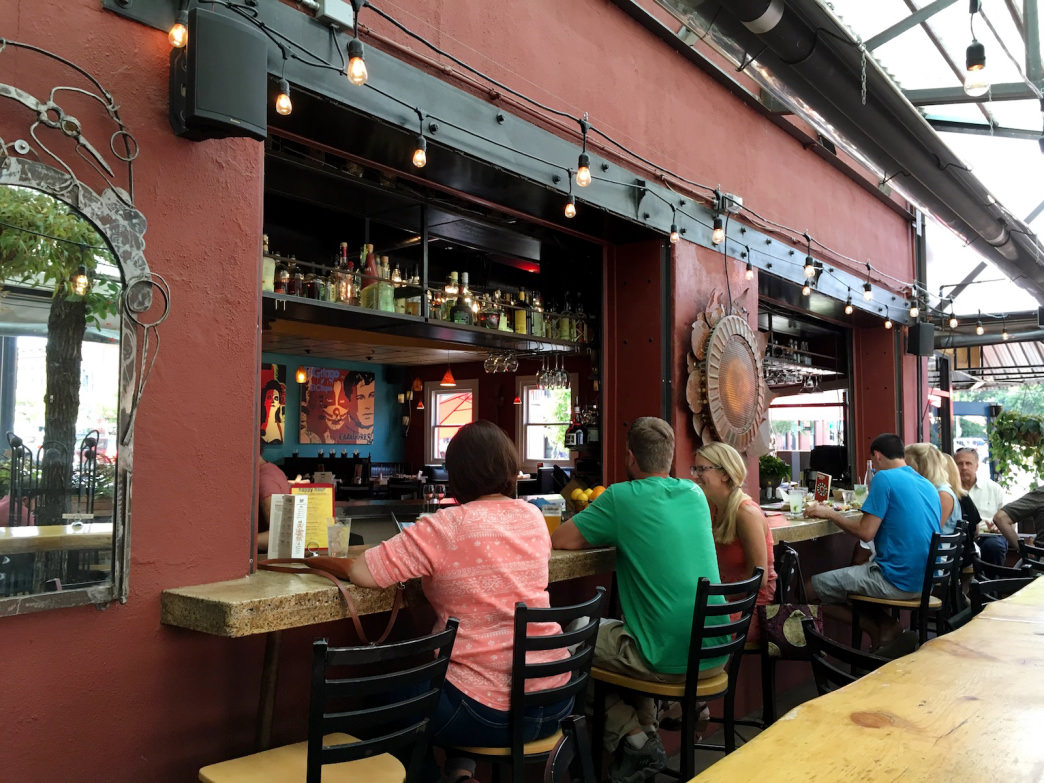 Centro boasts one of the best patios in Boulder.