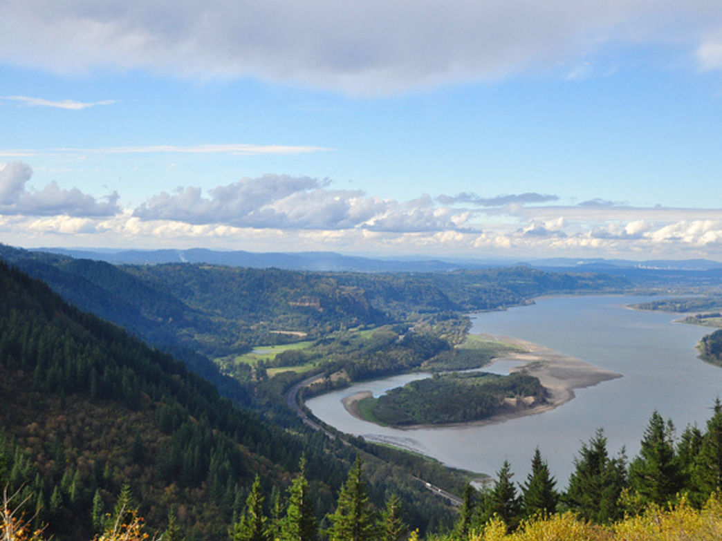 The views from Angel's Rest are among the best in the Columbia River Gorge.