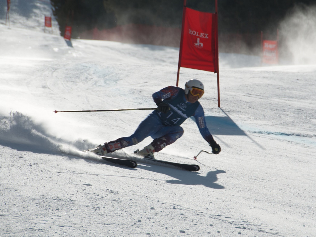 Locals love competing in the Town Downhill race; this winter's race is scheduled for March 19-20, 2016.