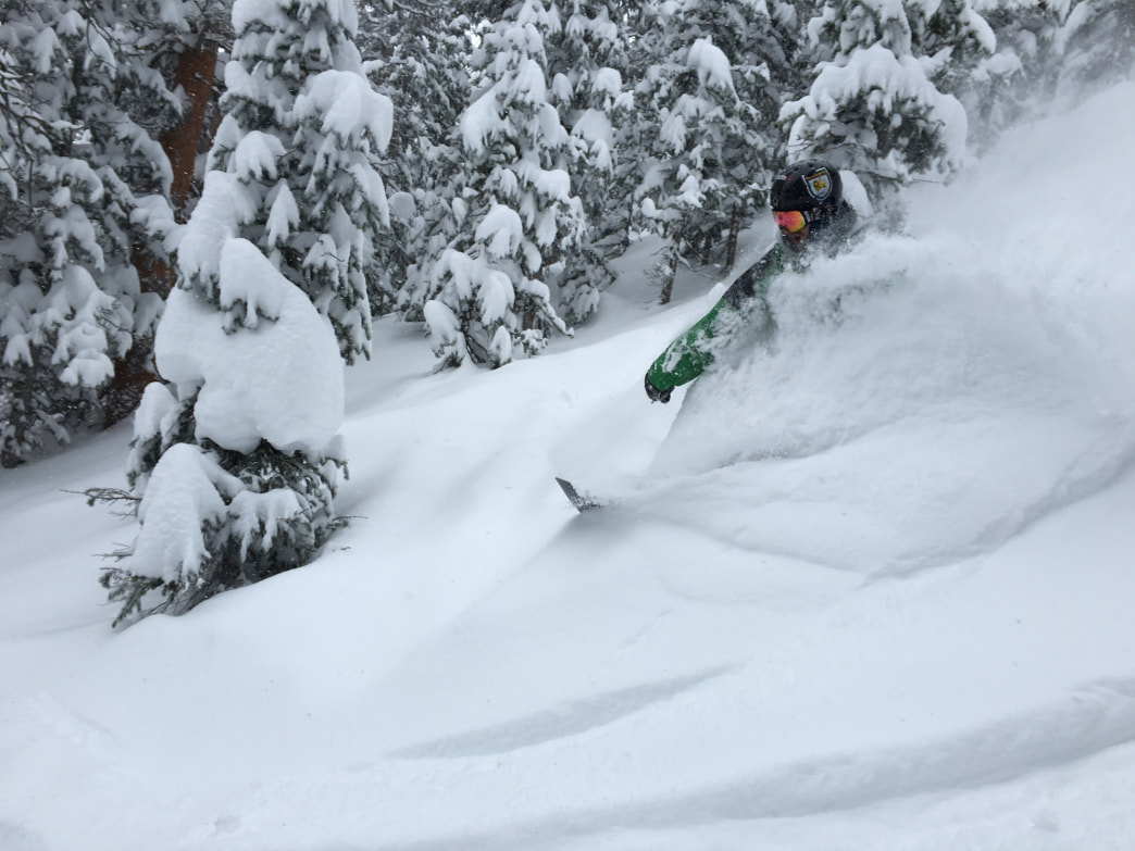 Monarch Mountain gets pounded with powder all season lone.