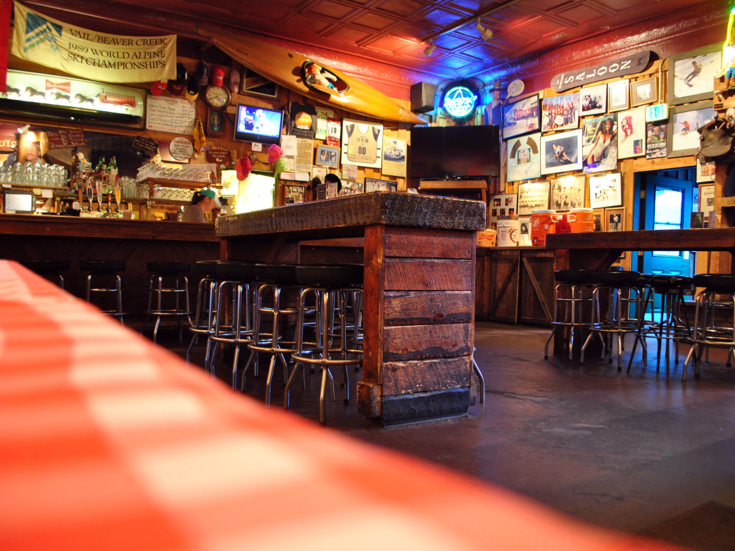 The Minturn Saloon is a colorful spot to linger after the Minturn Mile.