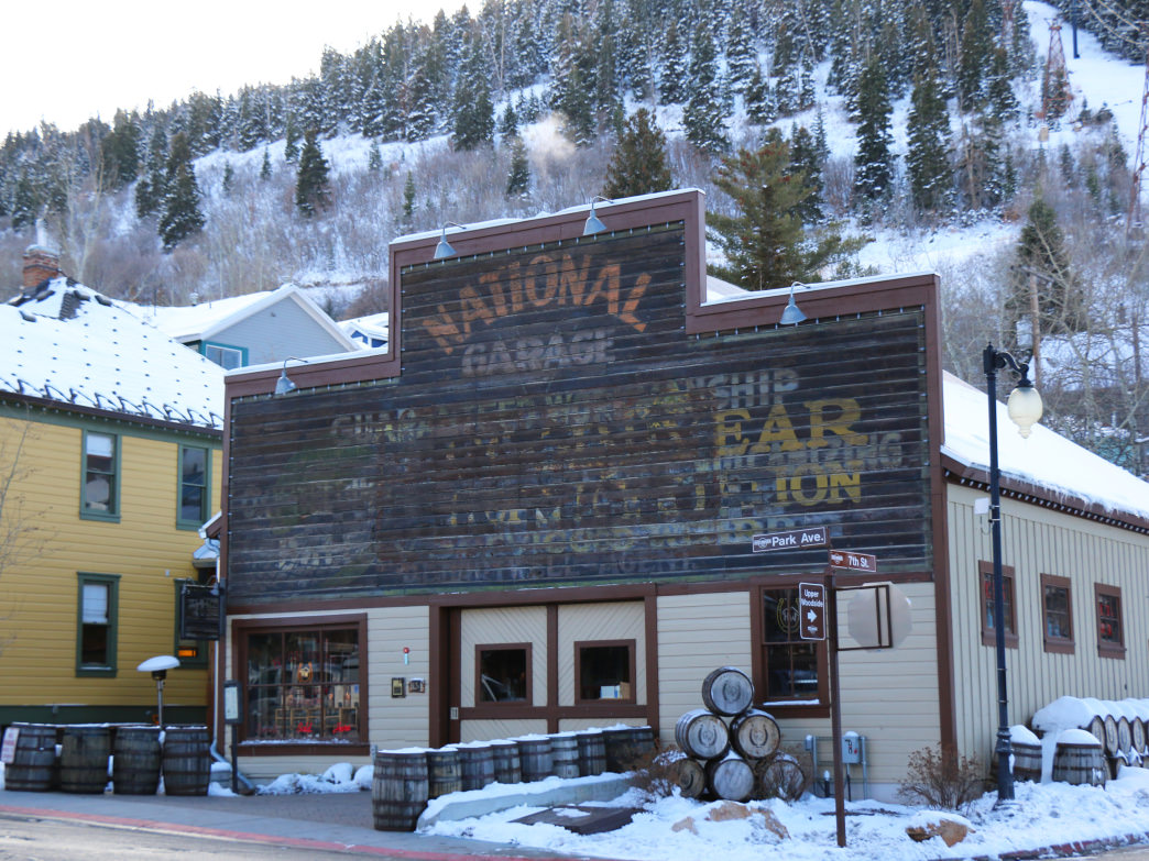 High West is one of Park City's favorite spots for après ski drinks.