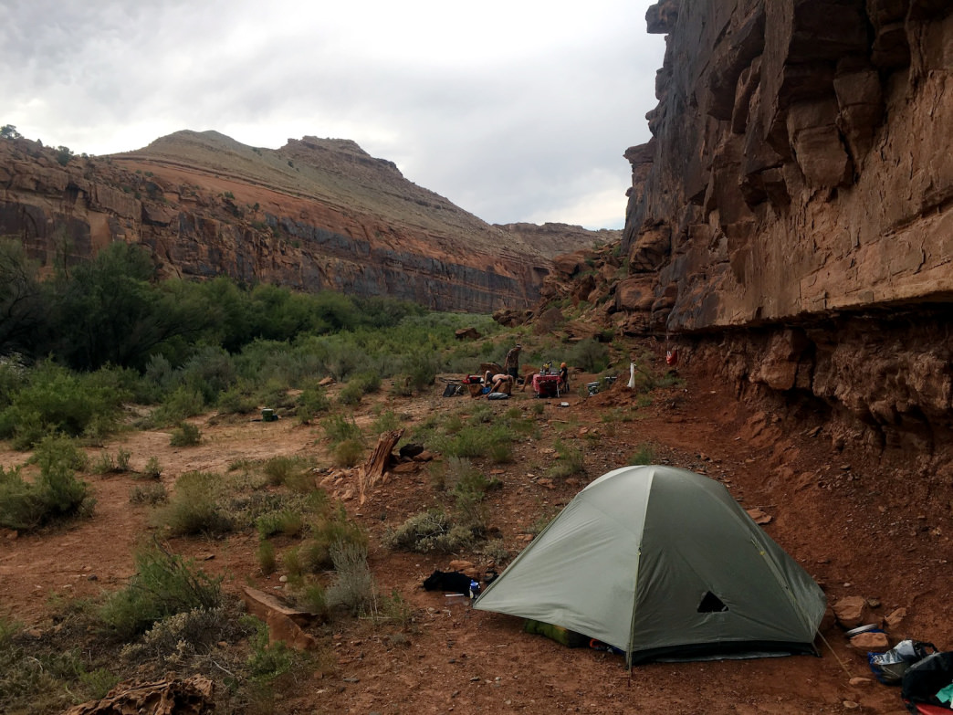There's no shortage of killer camping spots along the Lower Gunnison River.