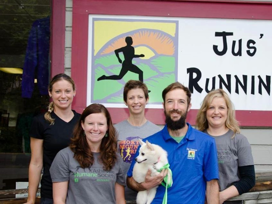 Jane Roane has been a manager at Jus' Running since 2001