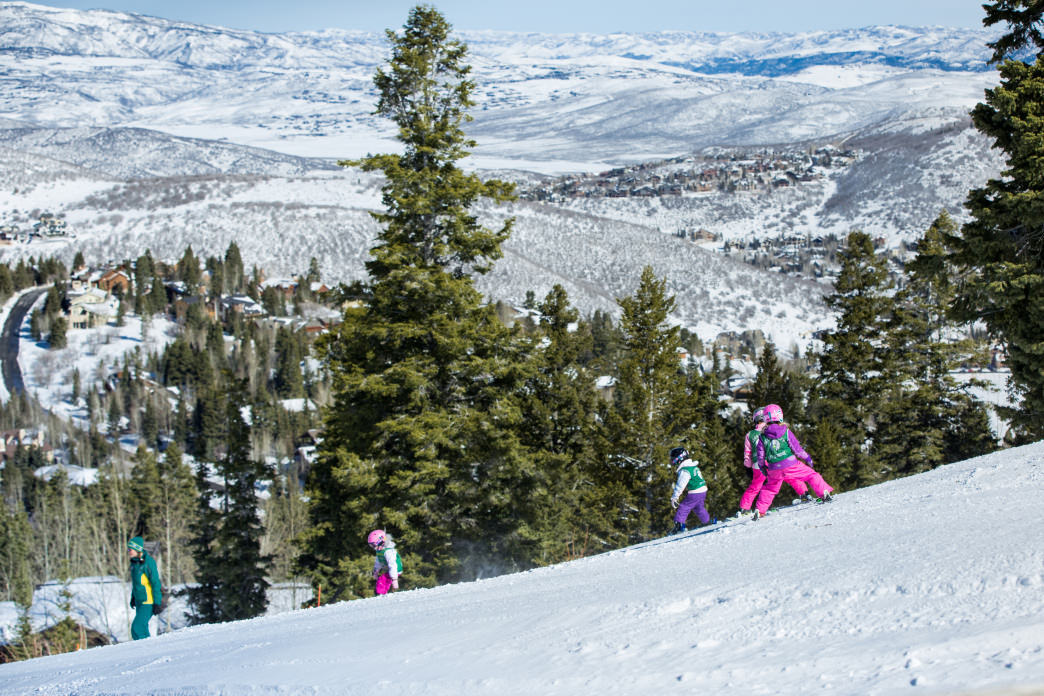 Deer Valley Resort is known for its excellent ski school and impeccable customer service.