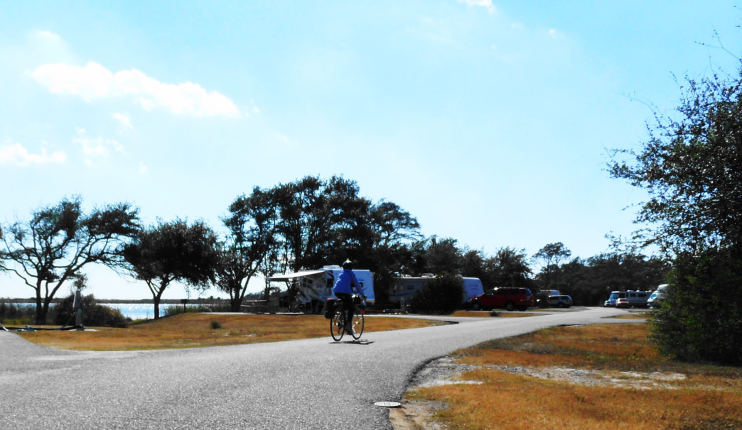 Alabama Gulf State Park has almost 500 campsites, plus 11 primitive sites.