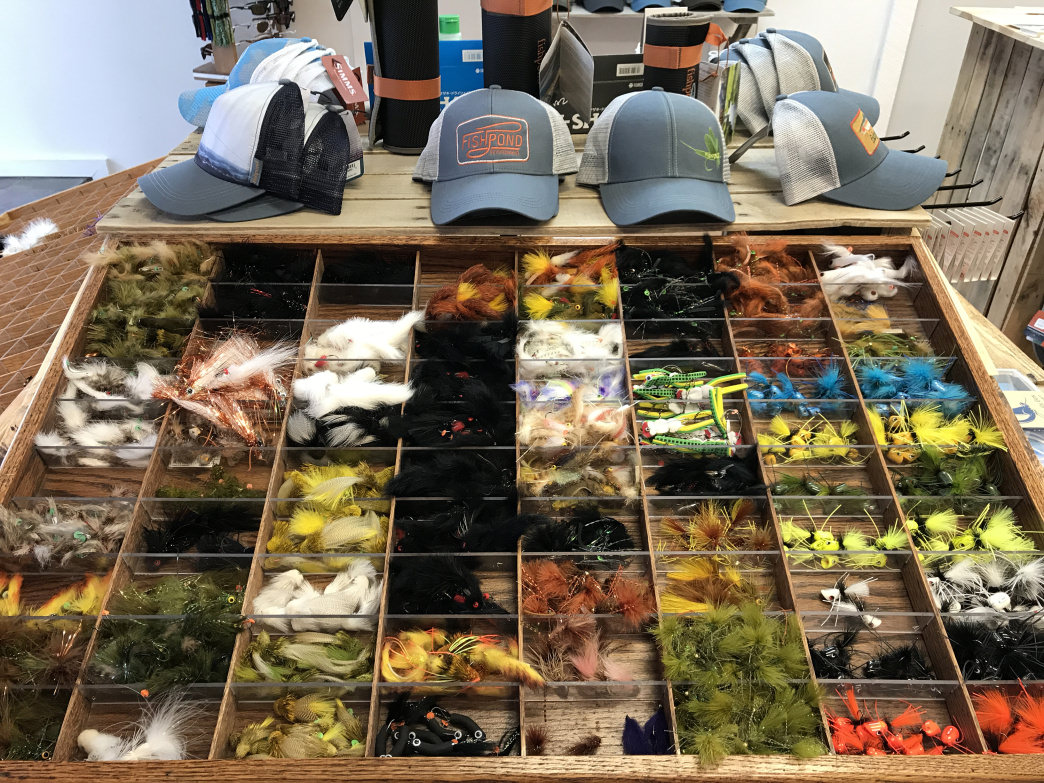 Before you set out to fish, stop in for anything you may need at Tuckasegee Fly Shop.