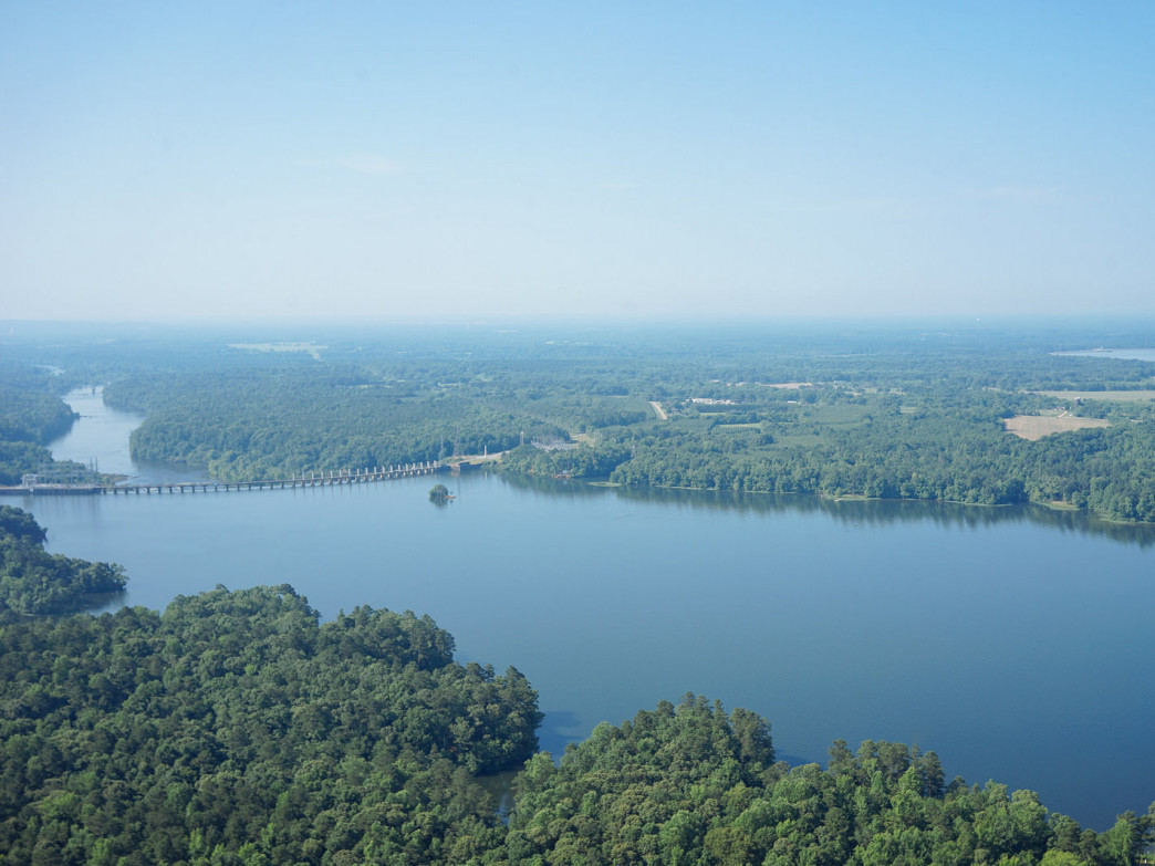 Lake Jordan offers plenty of opportunities for boating and fishing.