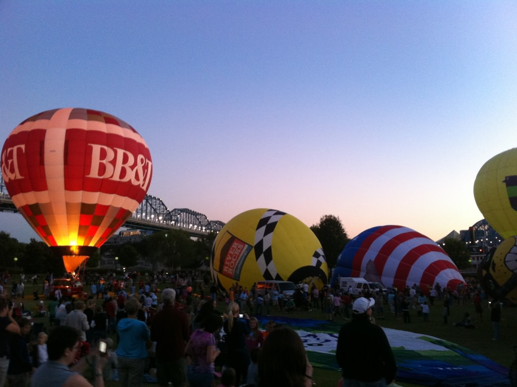 Chattanooga Hot Air Balloon.