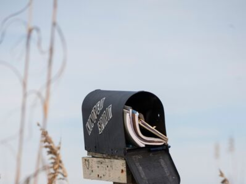 For decades visitors to Sunset Beach have left their stories in the mailbox