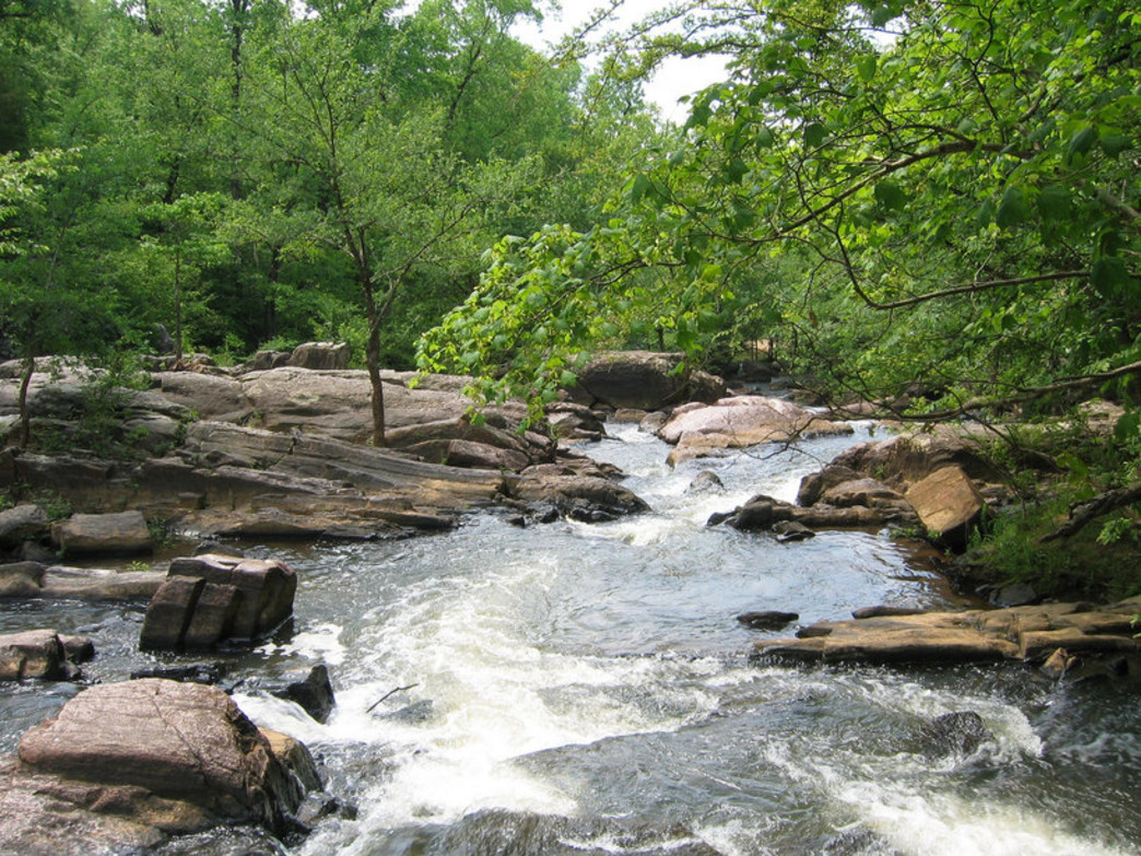 Chewacla State Park features plenty of water that makes for entertaining hikes.