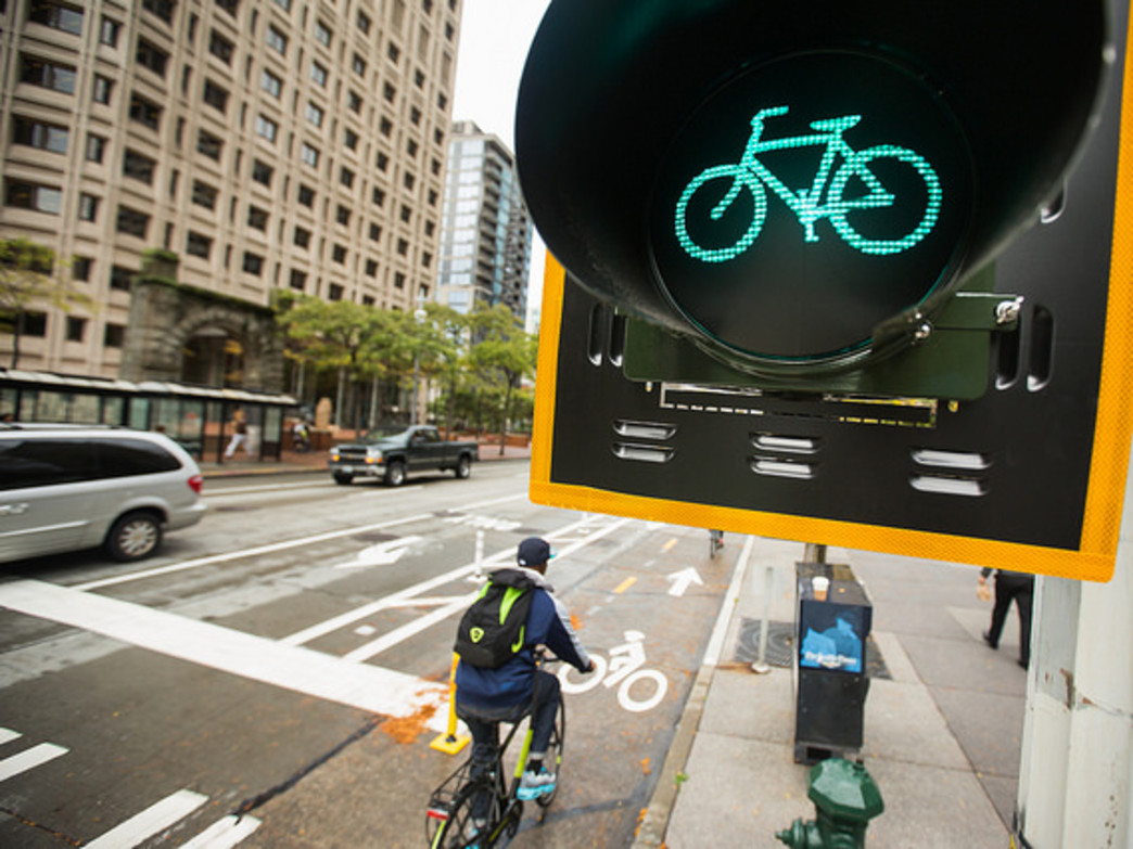 The city's improvements to bike infrastructure get the green light from cycling enthusiasts.
