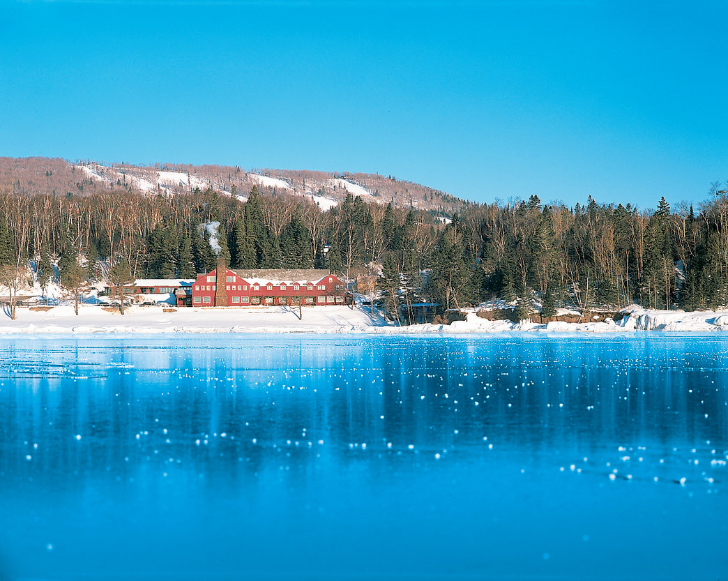 Lutsen Resort offers plenty of options from luxurious condos to handcrafted log cabins.