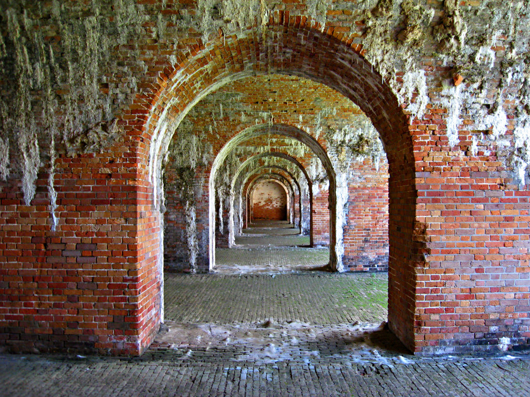 Named for Revolutionary War hero Daniel Morgan, Fort Morgan was built in 1834.