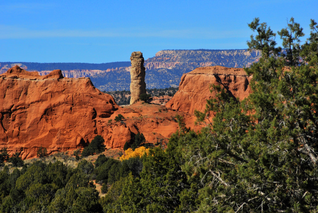 Take advantage of hiking opportunities at Kodachrome Basin State Park.