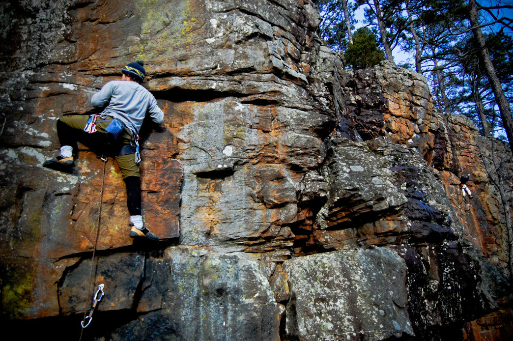 HCR has a solid range of difficulties from 5.5 to 5.14a.