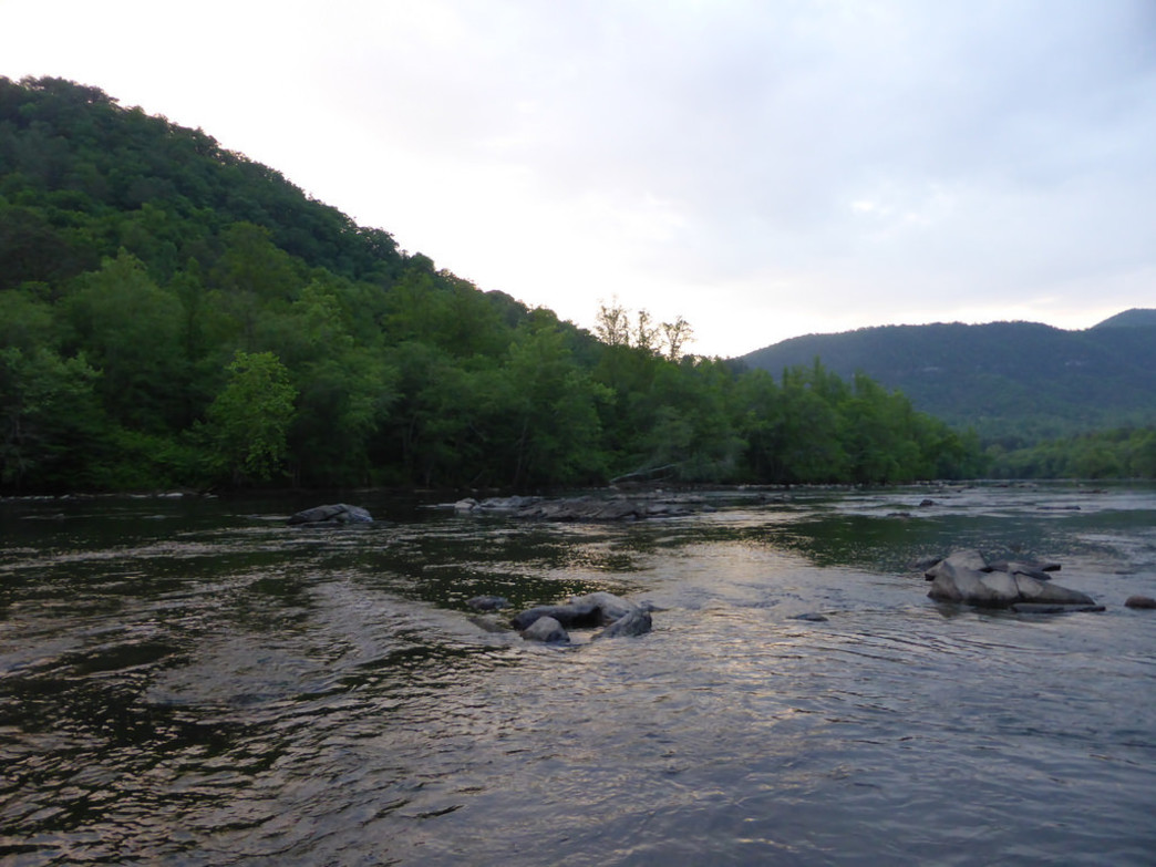 The Hiwassee River