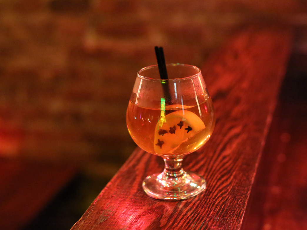 A hot toddy is the ultimate cold weather cocktail.