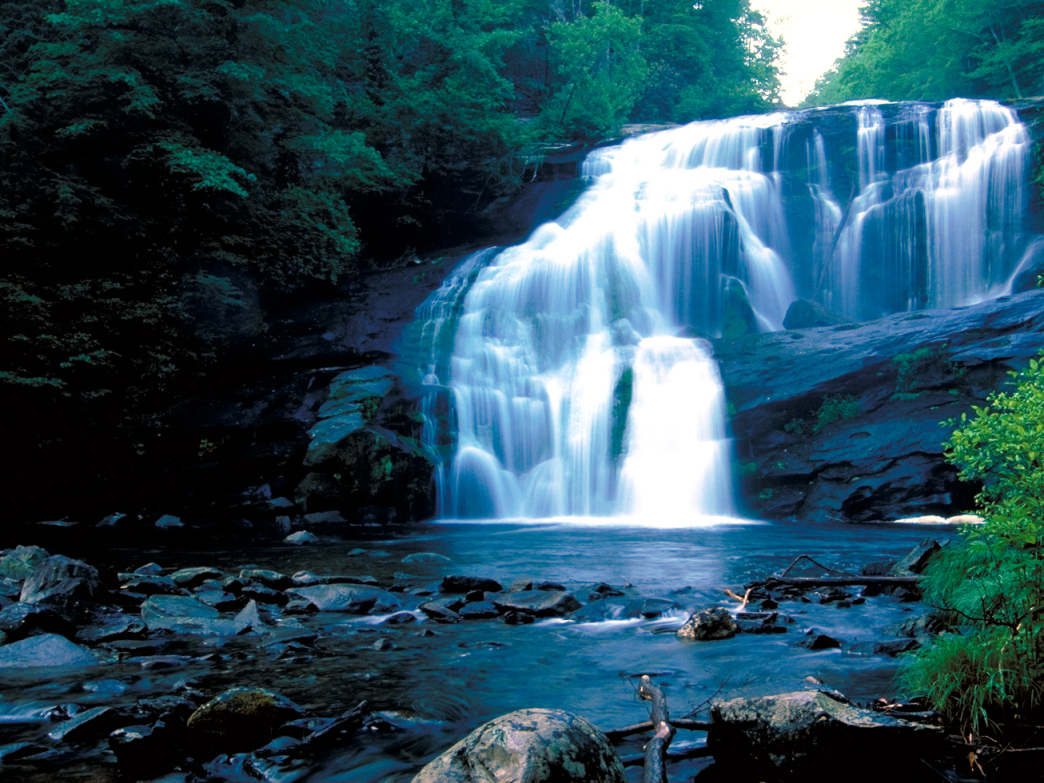 Bald River Falls near Tellico Plains