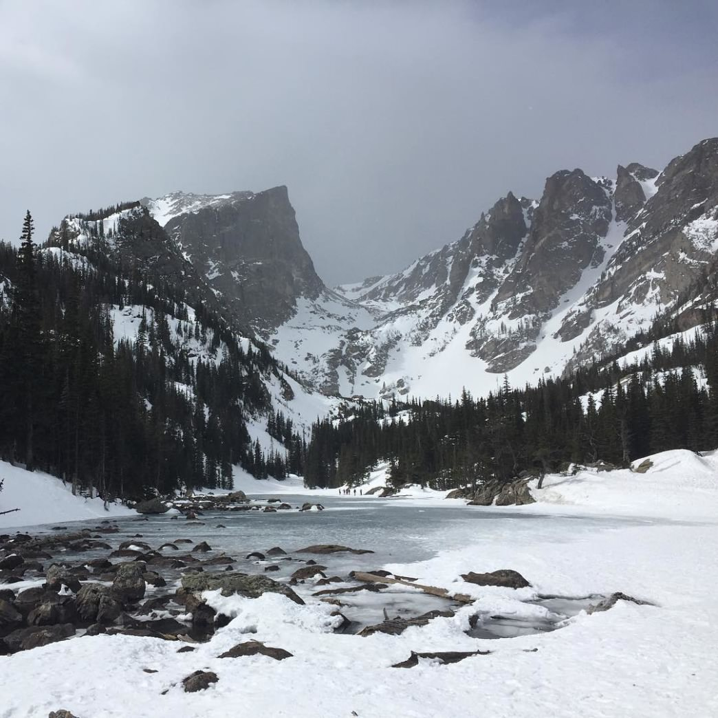Rocky Mountain National Park Lakes Nymph, Dream, and Emer...