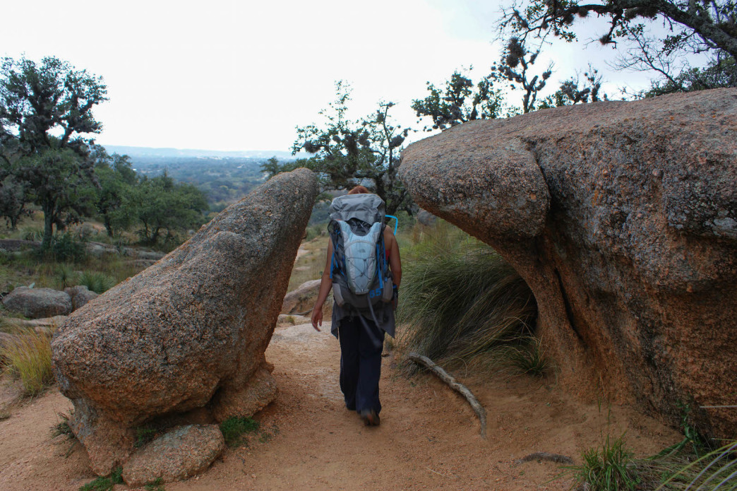 Enchanted Rock Cing And Backpacking: Enchanted Rock State Park Map At Usa Maps