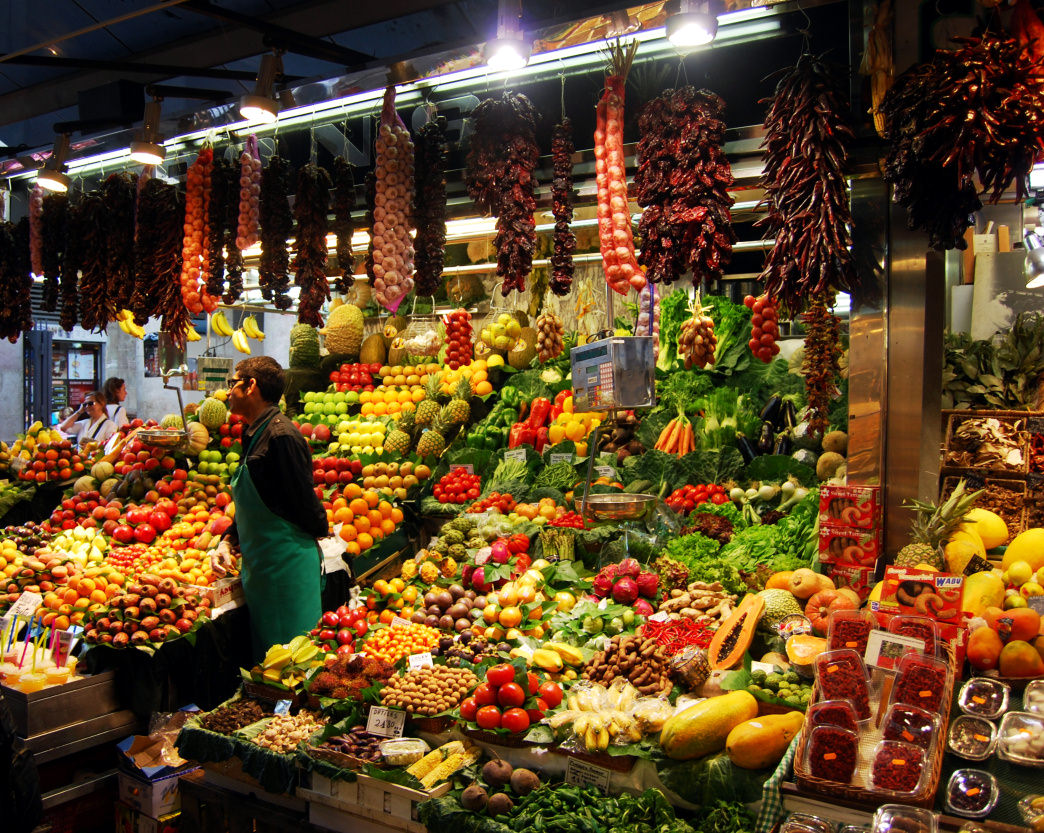 La Boqueria is one of the best food markets in Spain—and all of Europe, for that matter.