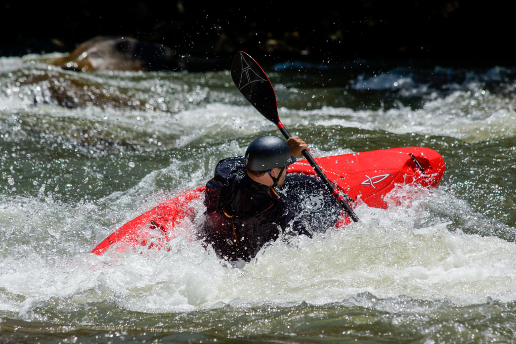 The dam-controlled Ocoee River, just an hour from Chattanooga, is one of the most popular spots for whitewater paddling in the country.