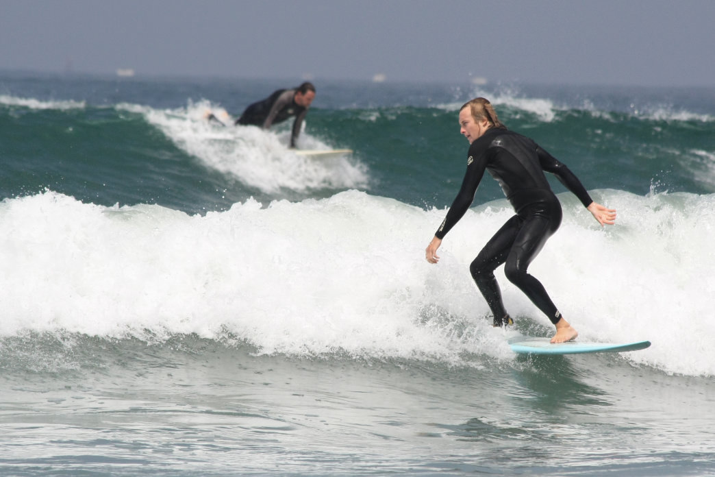 Surfing in L.A. is one adventure during your weekend that you don't want to miss.