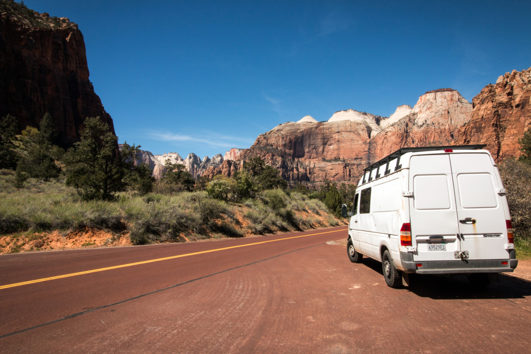 New day, new adventure in van life.