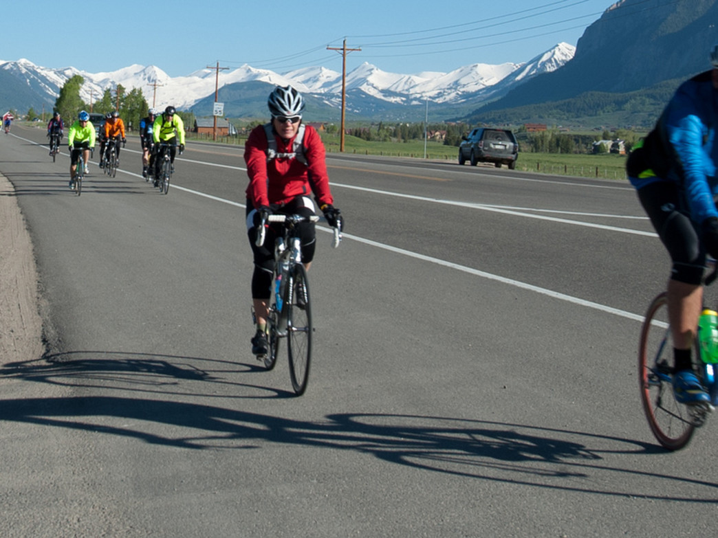 Events like Ride the Rockies showcase Colorado bicycling and bring valuable tourist dollars to the state.