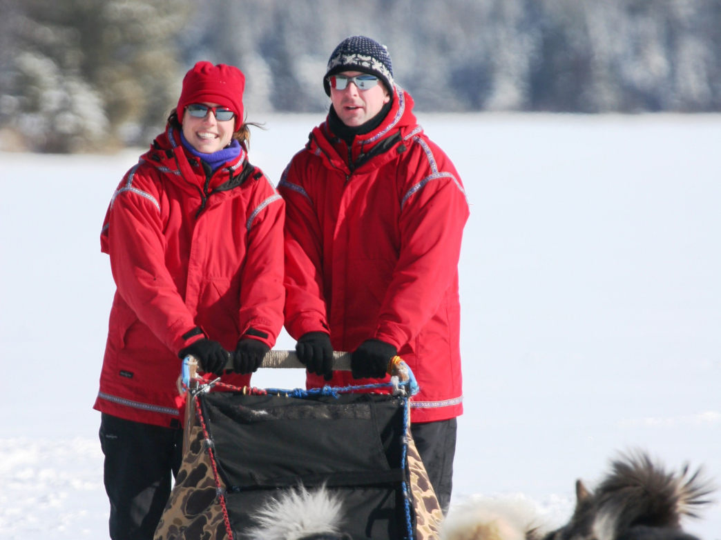 The Wintergreen Dogsled Lodge has been offering dogsledding for 35 years.