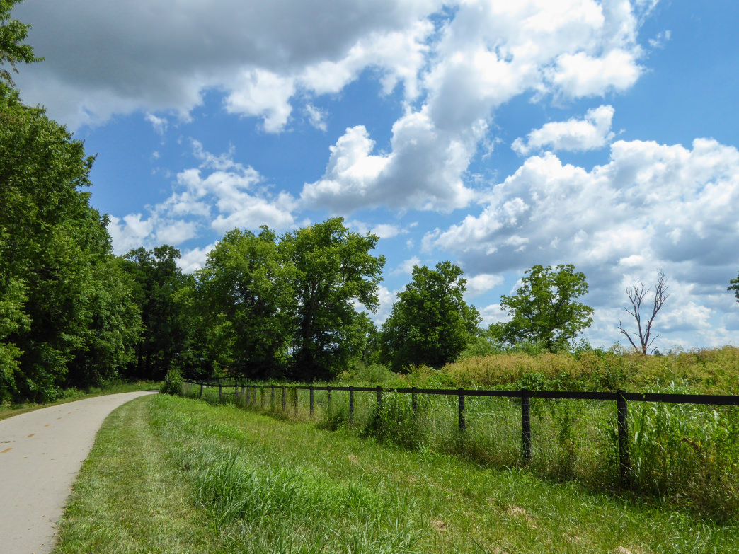 Central Kentucky's longest paved multi-use path is perfect to bike on the weekends.