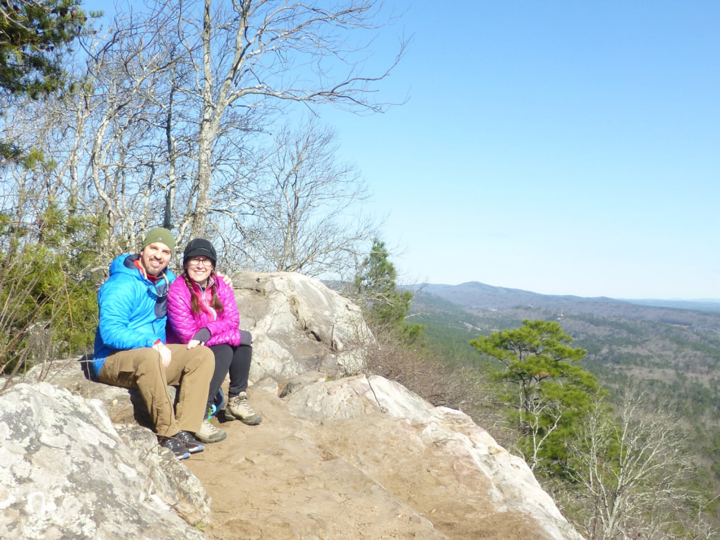 The sweeping view from the King's Chair in Oak Mountain State Park is a great destination for a date.     Marcus Woolf