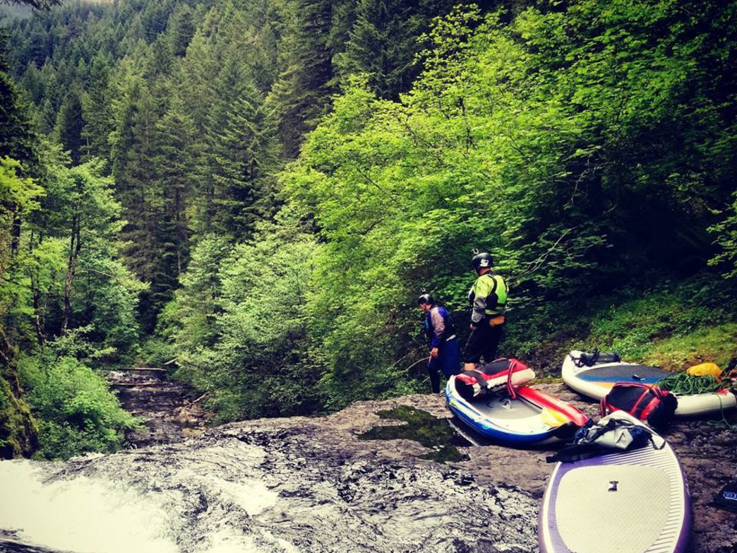 New paddlers should ensure they have a board appropriate for whitewater paddling before tackling their first currents.