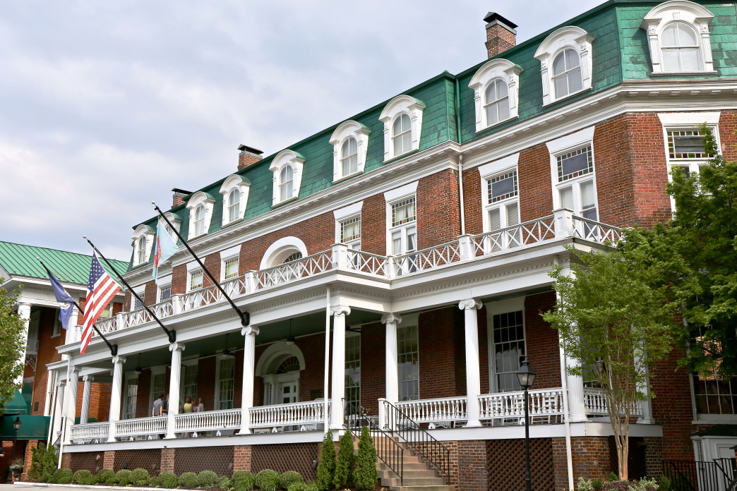 The Martha Washington Inn & Spa was once a college for young women and a hospital during the Civil War.     Renee Sklarew