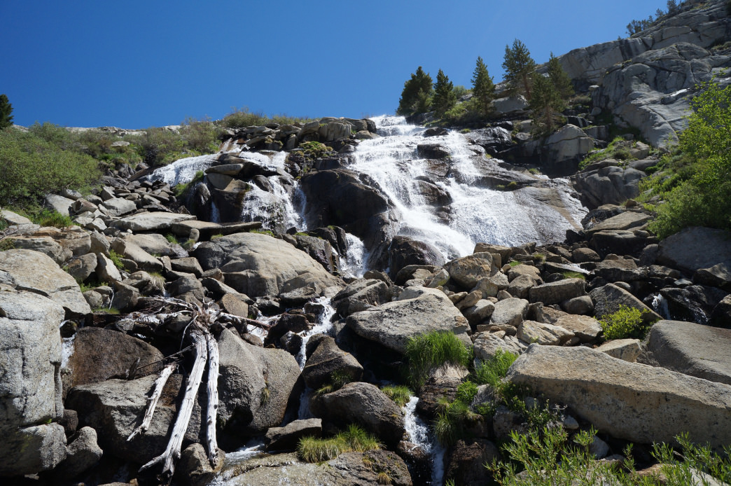 Don't forget to take photo breaks along the Bishop Pass Trail.