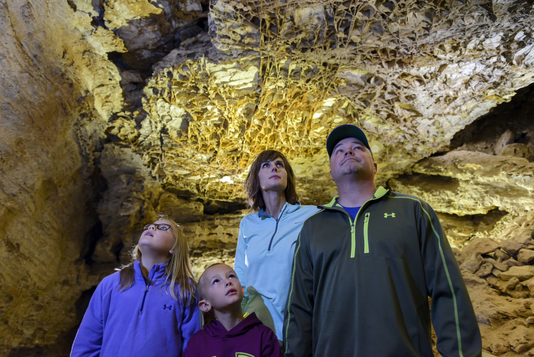 Wind Cave National Park and Jewel Cave National Monument feature two of the longest caves in the world.