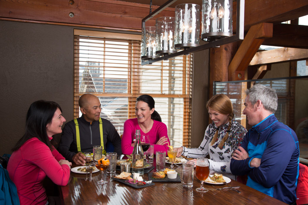 While Park City eateries are filled with the Sundance crowd, you can still find excellent dining options at The Brass Tag and other Deer Valley restaurants.