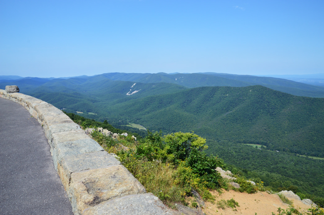 The Blue Ridge Parkway is one of the most scenic roads in the country.
