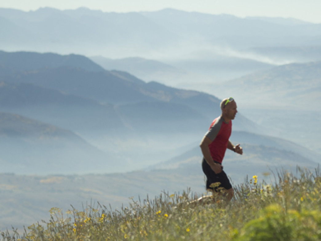 Enjoy some of the best views around in Jackson Hole running races and camps.