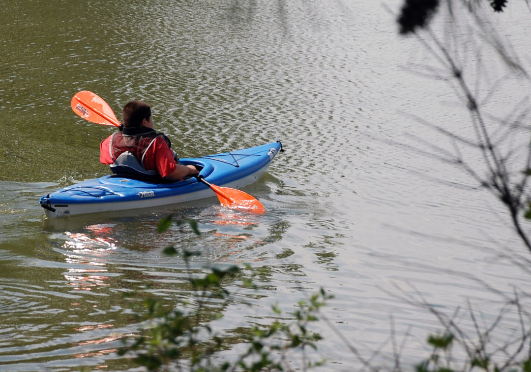 A canoe or sea kayak is your best bet for paddling around Land Between the Lakes.