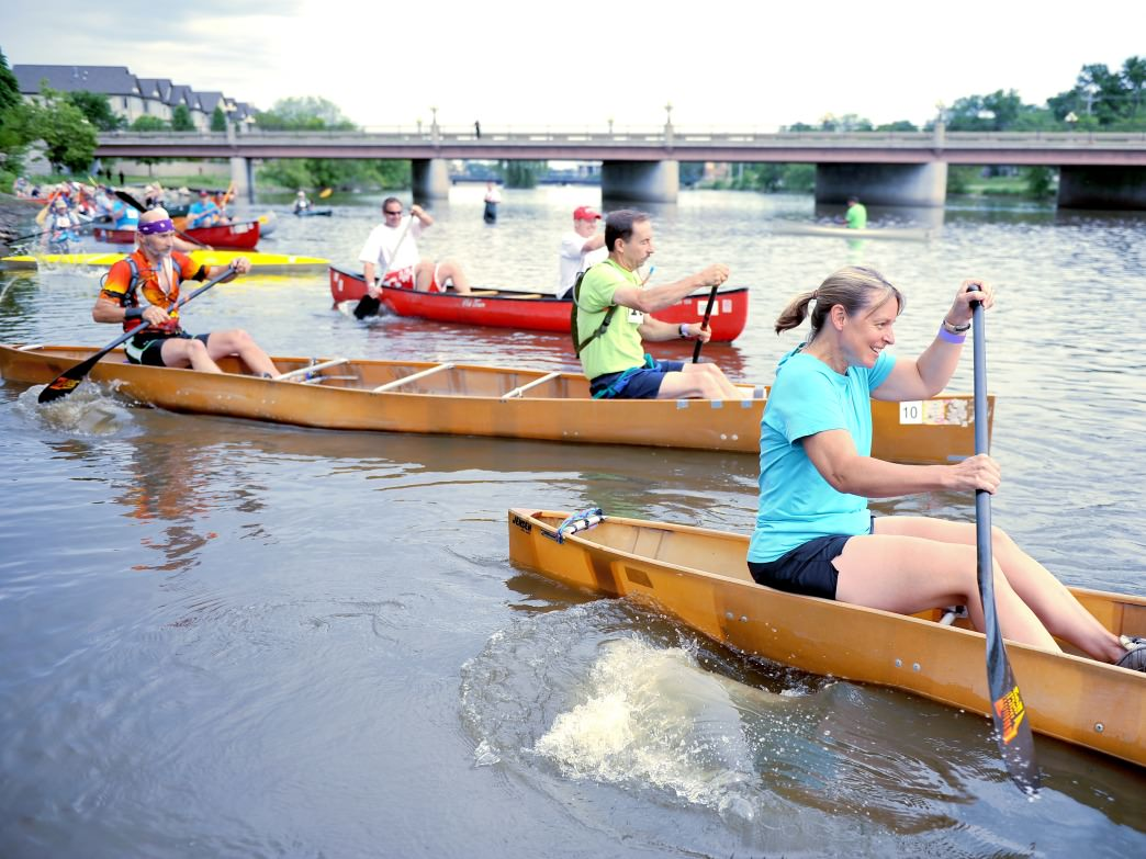 The Mid-America Canoe and Kayak Race