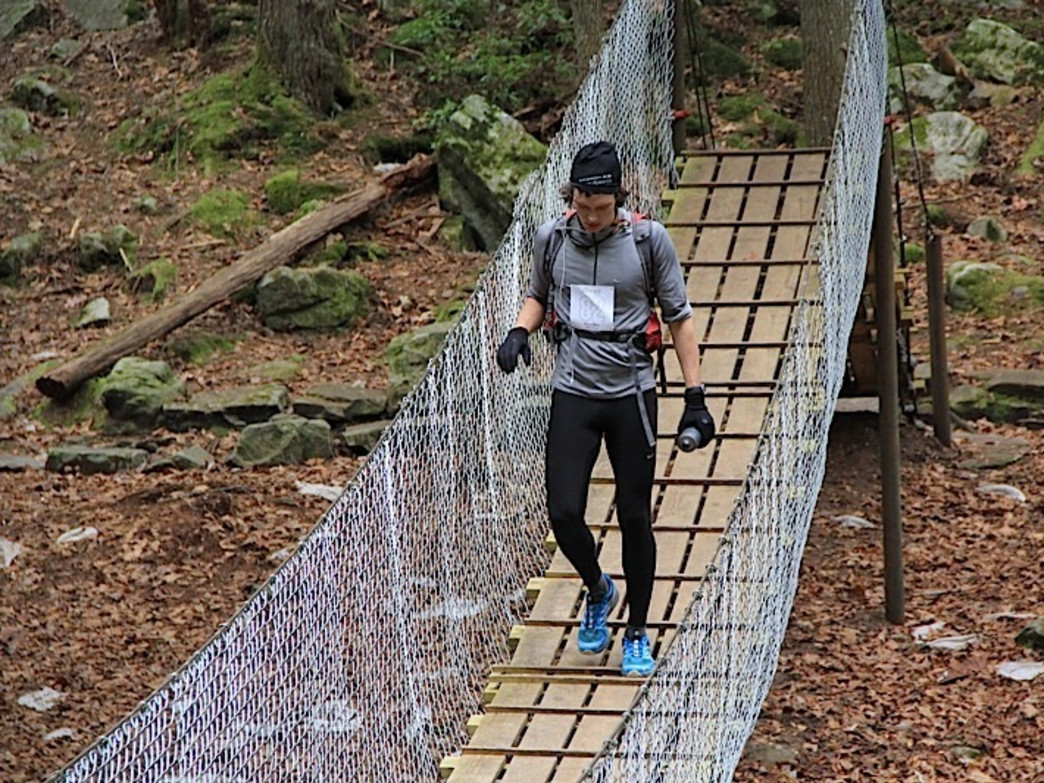 Savage Gulf swinging bridge