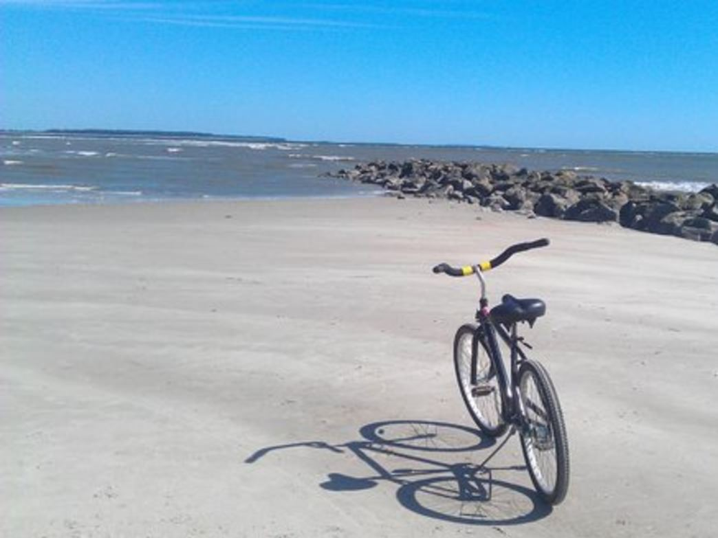 The northern end of Hilton Head's beaches are a great place to escape the crowds