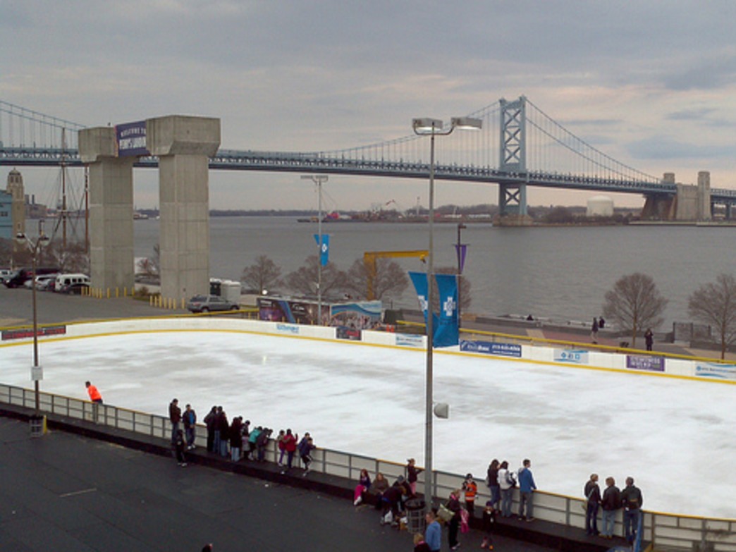 The Blue Cross RiverRink Winterfest attracts guests of all ages with its fun winter activities.