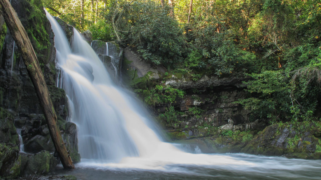Kick off your second day with a hike out to Abrams Falls.